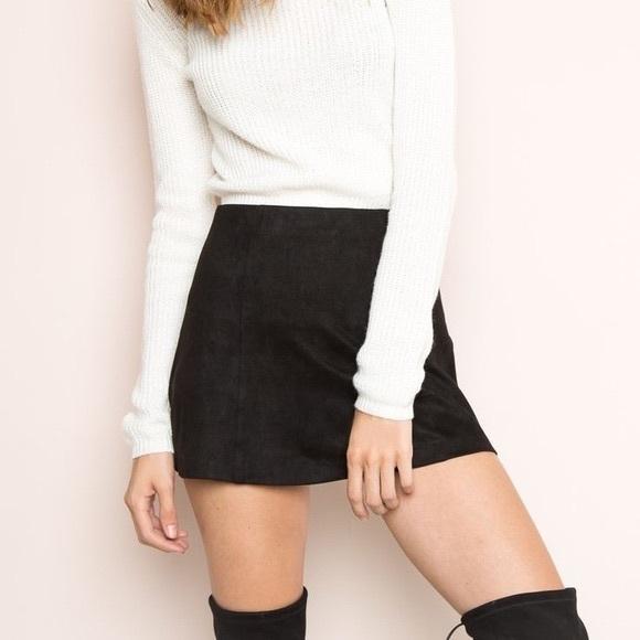 c799ff6df6 Brandy Melville Skirts | Cara Skirt | Poshmark
